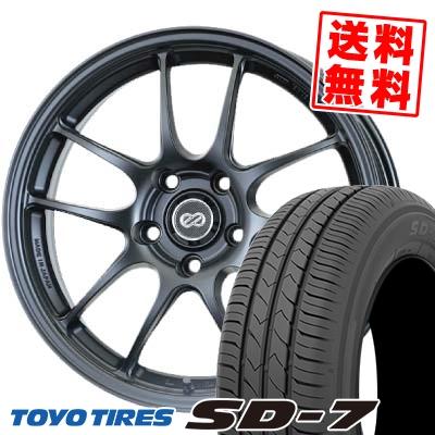 215/55R17 94V TOYO TIRES トーヨー タイヤ SD-7 エスディーセブン ENKEI PerformanceLine PF-01 エンケイ パフォーマンスライン PF01 サマータイヤホイール4本セット