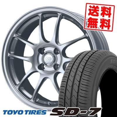 175/60R16 82H TOYO TIRES トーヨー タイヤ SD-7 エスディーセブン ENKEI PerformanceLine PF-01 エンケイ パフォーマンスライン PF01 サマータイヤホイール4本セット