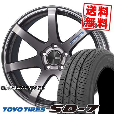 175/60R16 82H TOYO TIRES トーヨー タイヤ SD-7 エスディーセブン ENKEI PerformanceLine PF-07 エンケイ パフォーマンスライン PF07 サマータイヤホイール4本セット