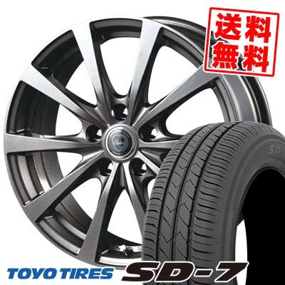 205/65R15 94H TOYO TIRES トーヨー タイヤ SD-7 エスディーセブン CLAIRE RG10 クレール RG10 サマータイヤホイール4本セット
