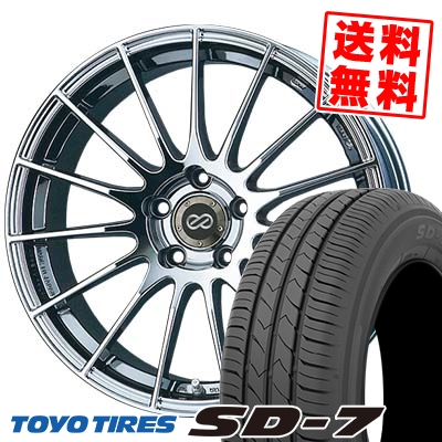 225/45R18 91W TOYO TIRES トーヨー タイヤ SD-7 エスディーセブン ENKEI RS05 エンケイ RS05 サマータイヤホイール4本セット