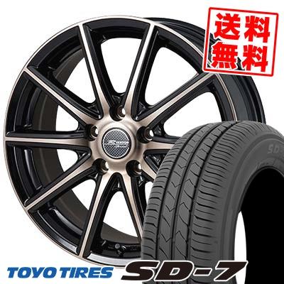 225/45R18 91W TOYO TIRES トーヨー タイヤ SD-7 エスディーセブン MONZA R VERSION Sprint モンツァ Rヴァージョン スプリント サマータイヤホイール4本セット