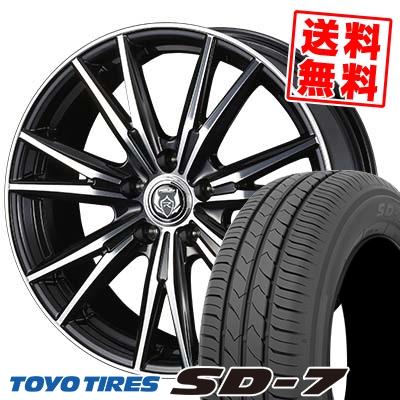 225/45R18 91W TOYO TIRES トーヨー タイヤ SD-7 エスディーセブン WEDS RIZLEY DK ウェッズ ライツレーDK サマータイヤホイール4本セット