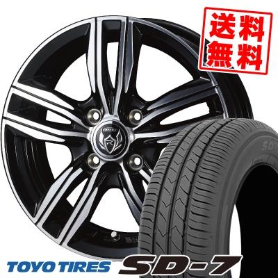 175/65R15 84S TOYO TIRES トーヨー タイヤ SD-7 エスディーセブン WEDS RIZLEY DS ウェッズ ライツレー DS サマータイヤホイール4本セット
