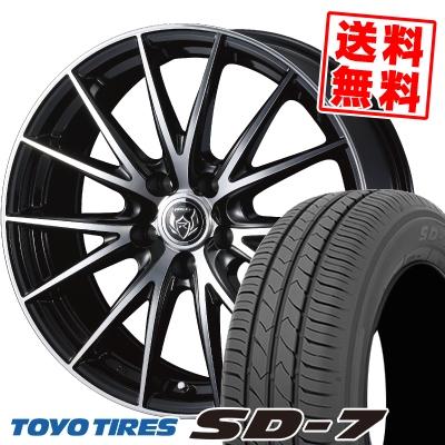 205/60R16 92H TOYO TIRES トーヨー タイヤ SD-7 エスディーセブン WEDS RIZLEY VS ウェッズ ライツレー VS サマータイヤホイール4本セット