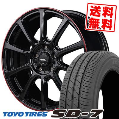 16インチ TOYO TIRES トーヨー タイヤ SD-7 エスディーセブン 205 60 16 205-60-16 再再販 Rapid サマータイヤホイール4本セット 92H ZX10 ラピッド Performance 取付対象 安心の実績 高価 買取 強化中 60R16 サマーホイールセット パフォーマンス