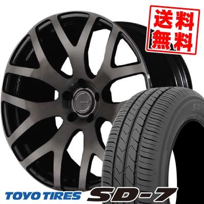 225/45R18 91W TOYO TIRES トーヨー タイヤ SD-7 エスディーセブン RAYS WALTZ FORGED S7 レイズ ヴァルツ フォージド S7 サマータイヤホイール4本セット