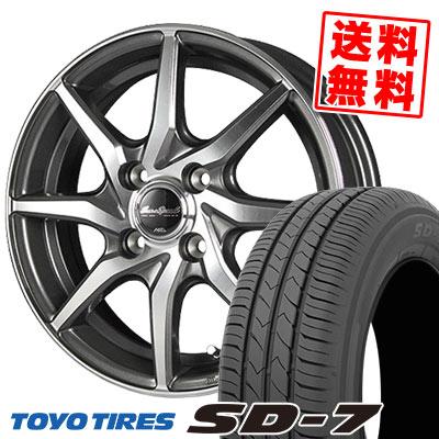 185/70R14 88S TOYO TIRES トーヨー タイヤ SD-7 エスディーセブン EuroSpeed S810 ユーロスピード S810 サマータイヤホイール4本セット