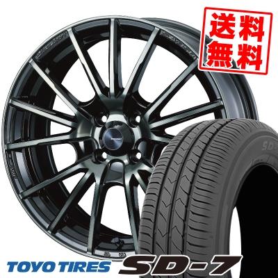 175/60R16 82H TOYO TIRES トーヨー タイヤ SD-7 エスディーセブン WedsSport SA-35R ウェッズスポーツ SA-35R サマータイヤホイール4本セット