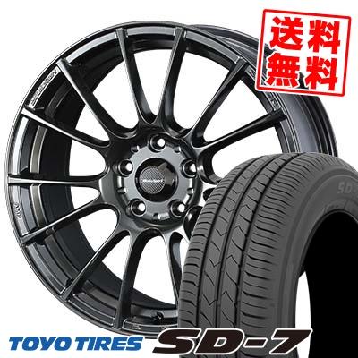 205/60R16 92H TOYO TIRES トーヨー タイヤ SD-7 エスディーセブン WedsSport SA-72R ウェッズスポーツ SA-72R サマータイヤホイール4本セット