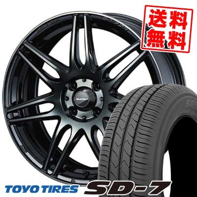 175/60R16 82H TOYO TIRES トーヨー タイヤ SD-7 エスディーセブン wedsSport SA-77R ウェッズスポーツ SA-77R サマータイヤホイール4本セット