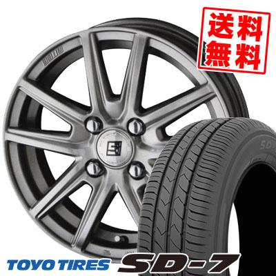 175/65R15 84S TOYO TIRES トーヨー タイヤ SD-7 エスディーセブン SEIN SS ザイン エスエス サマータイヤホイール4本セット