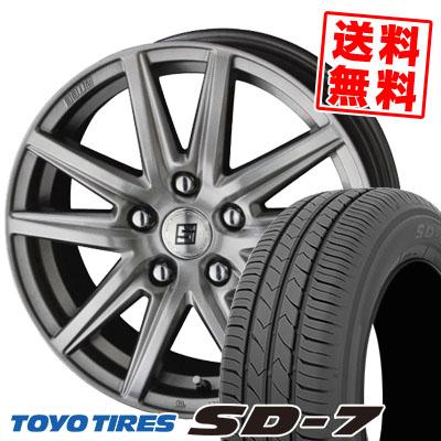 215/50R17 91V TOYO TIRES トーヨー タイヤ SD-7 エスディーセブン SEIN SS ザイン エスエス サマータイヤホイール4本セット