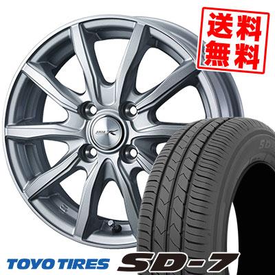 185/70R14 88S TOYO TIRES トーヨー タイヤ SD-7 エスディーセブン JOKER SHAKE ジョーカー シェイク サマータイヤホイール4本セット