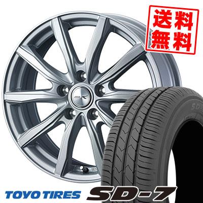 215/45R17 87W TOYO TIRES トーヨー タイヤ SD-7 エスディーセブン JOKER SHAKE ジョーカー シェイク サマータイヤホイール4本セット