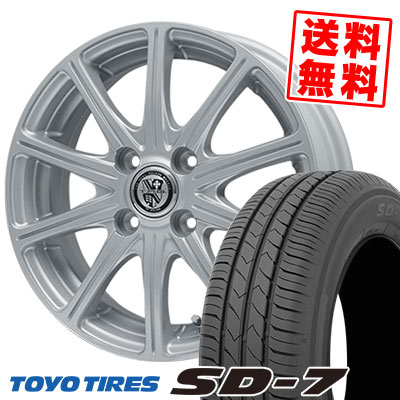 175/70R14 84S TOYO TIRES トーヨー タイヤ SD-7 エスディーセブン TRG-SS10 TRG SS10 サマータイヤホイール4本セット