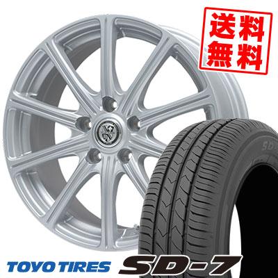 225/45R18 91W TOYO TIRES トーヨー タイヤ SD-7 エスディーセブン TRG-SS10 TRG SS10 サマータイヤホイール4本セット