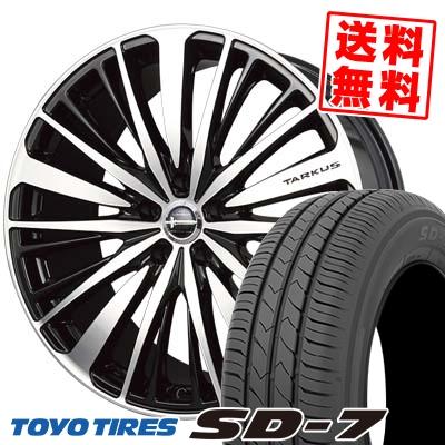 215/55R17 94V TOYO TIRES トーヨー タイヤ SD-7 エスディーセブン BADX LOXARNY TARKUS バドックス ロクサーニ タルカス サマータイヤホイール4本セット