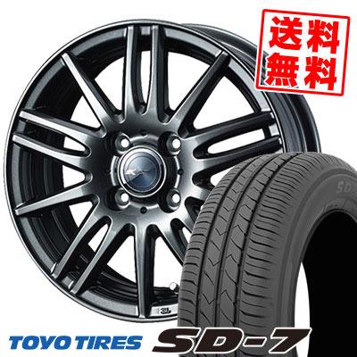 175/65R15 84S TOYO TIRES トーヨー タイヤ SD-7 エスディーセブン Zamik Tito ザミック ティート サマータイヤホイール4本セット
