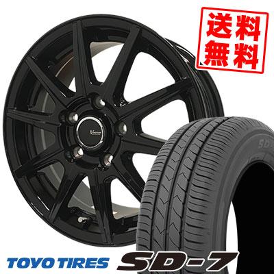 205/60R16 92H TOYO TIRES トーヨー タイヤ SD-7 エスディーセブン V-EMOTION BR10 Vエモーション BR10 サマータイヤホイール4本セット