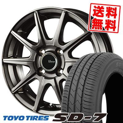 175/70R14 84S TOYO TIRES トーヨー タイヤ SD-7 エスディーセブン V-EMOTION GS10 Vエモーション GS10 サマータイヤホイール4本セット