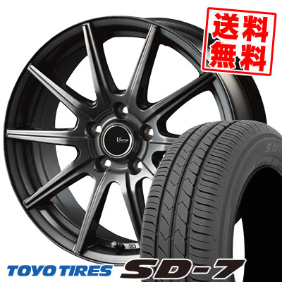 195/65R15 91H TOYO TIRES トーヨー タイヤ SD-7 エスディーセブン V-EMOTION GS10 Vエモーション GS10 サマータイヤホイール4本セット