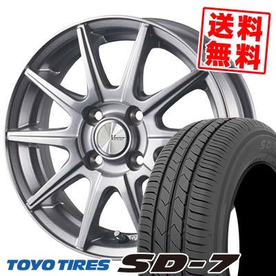 185/70R14 88S TOYO TIRES トーヨー タイヤ SD-7 エスディーセブン V-EMOTION SR10 Vエモーション SR10 サマータイヤホイール4本セット