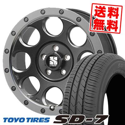 史上一番安い 215/55R17 94V TOYO TIRES トーヨー タイヤ SD-7 エスディーセブン XTREME-J XJ03 エクストリームJ XJ-03 サマータイヤホイール4本セット, 音別町 52479dcf