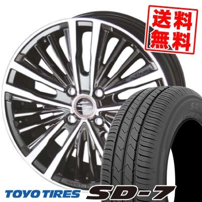 175/60R16 82H TOYO TIRES トーヨー タイヤ SD-7 エスディーセブン SHALLEN XR-75 MONOBLOCK シャレン XR75 モノブロック サマータイヤホイール4本セット