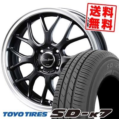 165/55R14 72V TOYO TIRES トーヨー タイヤ SD-K7 エスディーケ-セブン 1445 ユーロスポーツ タイプ805 サマータイヤホイール4本セット