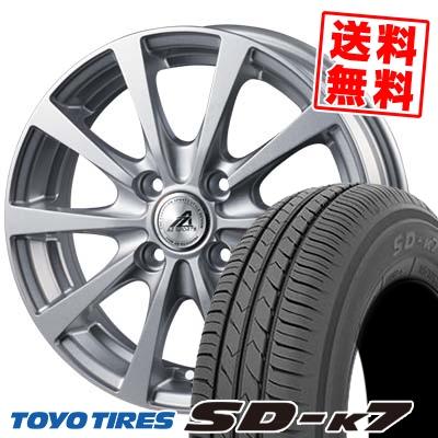 165/65R13 77S TOYO TIRES トーヨー タイヤ SD-K7 エスディーケ-セブン AZ SPORTS EX10 AZスポーツ EX10 サマータイヤホイール4本セット