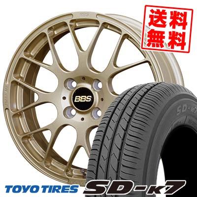 165/55R15 75V TOYO TIRES トーヨー タイヤ SD-K7 エスディーケ-セブン BBS RP BBS RP サマータイヤホイール4本セット