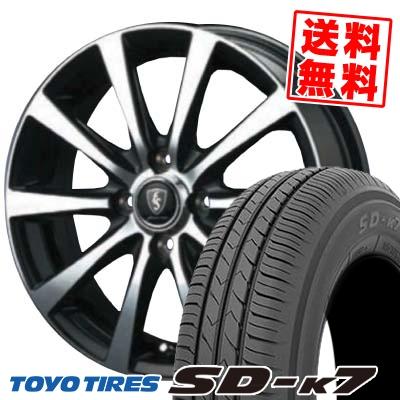165/50R15 73V TOYO TIRES トーヨー タイヤ SD-K7 エスディーケ-セブン EuroSpeed BL10 ユーロスピード BL10 サマータイヤホイール4本セット