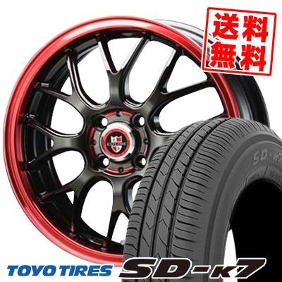 165/55R14 72V TOYO TIRES トーヨー タイヤ SD-K7 エスディーケ-セブン 1445 エクスプラウド RBM サマータイヤホイール4本セット【取付対象】