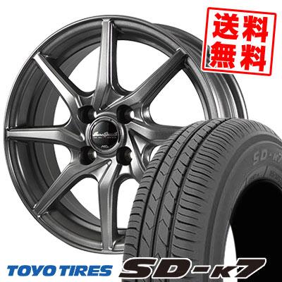 165/55R14 72V TOYO TIRES トーヨー タイヤ SD-K7 エスディーケ-セブン EuroSpeed G810 ユーロスピード G810 サマータイヤホイール4本セット