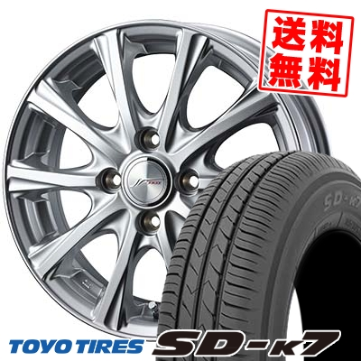 155/55R14 69V TOYO TIRES トーヨー タイヤ SD-K7 エスディーケ-セブン JOKER MAGIC ジョーカー マジック サマータイヤホイール4本セット
