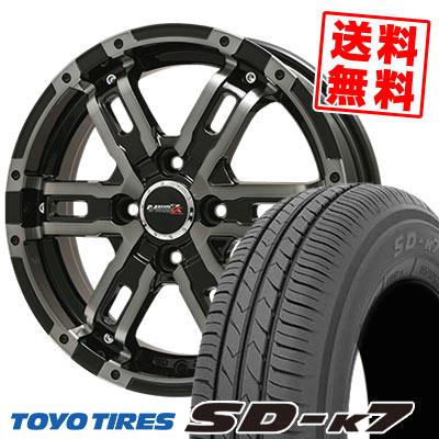 165/55R14 72V TOYO TIRES トーヨー タイヤ SD-K7 エスディーケ-セブン B-MUD Z Bマッド ゼット サマータイヤホイール4本セット