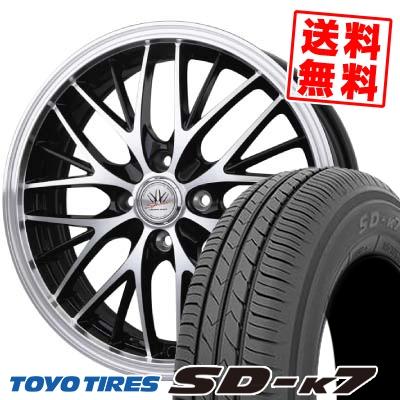 165/55R15 75V TOYO TIRES トーヨー タイヤ SD-K7 エスディーケ-セブン BADX LOXARNY SPORT MW-8 バドックス ロクサーニスポーツ MW-8 サマータイヤホイール4本セット