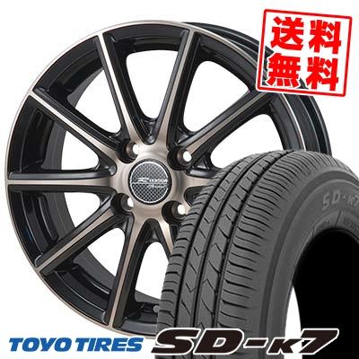 155/65R14 75S TOYO TIRES トーヨー タイヤ SD-K7 エスディーケ-セブン MONZA R VERSION Sprint モンツァ Rヴァージョン スプリント サマータイヤホイール4本セット