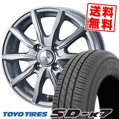 165/65R13 77S TOYO TIRES トーヨー タイヤ SD-K7 エスディーケ-セブン JOKER SHAKE ジョーカー シェイク サマータイヤホイール4本セット