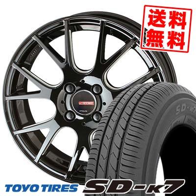 165/50R15 73V TOYO TIRES トーヨー タイヤ SD-K7 エスディーケ-セブン CIRCLAR RM-7 サーキュラー RM-7 サマータイヤホイール4本セット