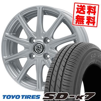 155/55R14 69V TOYO TIRES トーヨー タイヤ SD-K7 エスディーケ-セブン TRG-SS10 TRG SS10 サマータイヤホイール4本セット