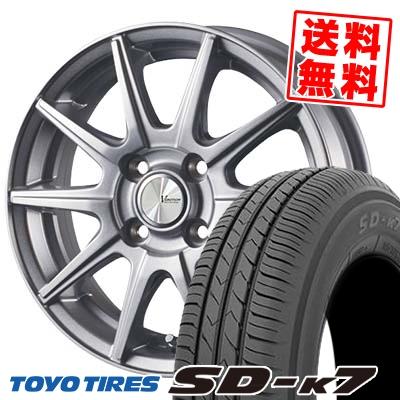 165/65R13 77S TOYO TIRES トーヨー タイヤ SD-K7 エスディーケ-セブン V-EMOTION SR10 Vエモーション SR10 サマータイヤホイール4本セット
