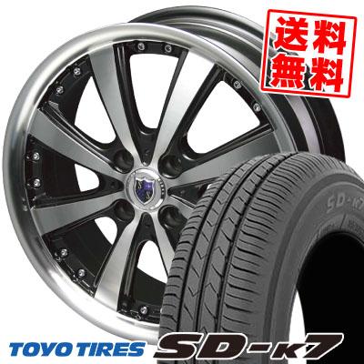 155/55R14 69V TOYO TIRES トーヨー タイヤ SD-K7 エスディーケ-セブン STEINER VS-5 シュタイナー VS5 サマータイヤホイール4本セット