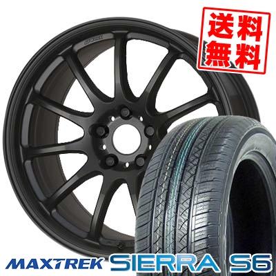 235/50R18 101V XL MAXTREK マックストレック SIERRA S6 シエラ エスロク WORK EMOTION 11R ワーク エモーション 11R サマータイヤホイール4本セット