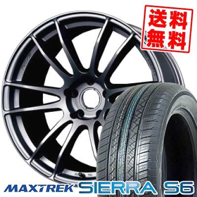 225/65R17 102S MAXTREK マックストレック SIERRA S6 シエラ エスロク RAYS GRAMLIGHTS 57 Xtreme レイズ グラムライツ 57エクストリーム サマータイヤホイール4本セット
