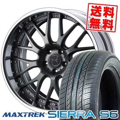 255/35R20 97W XL MAXTREK マックストレック SIERRA S6 シエラ エスロク weds MAVERICK 709M ウエッズ マーベリック 709M サマータイヤホイール4本セット