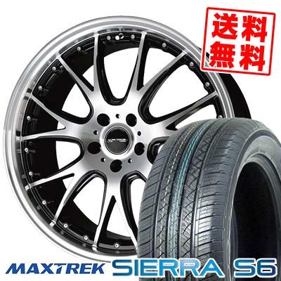 235/50R18 101V XL MAXTREK マックストレック SIERRA S6 シエラ エスロク Precious AST M2 プレシャス アスト M2 サマータイヤホイール4本セット