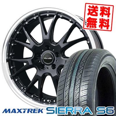 255/35R20 97W XL MAXTREK マックストレック SIERRA S6 シエラ エスロク Precious AST M2 プレシャス アスト M2 サマータイヤホイール4本セット