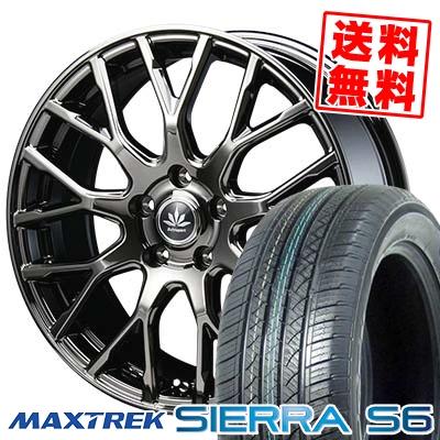 255/35R20 97W XL MAXTREK マックストレック SIERRA S6 シエラ エスロク Bahnsport Type902 バーンシュポルト タイプ902 サマータイヤホイール4本セット